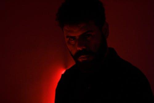 Free stock photo of dark, look, moody, red