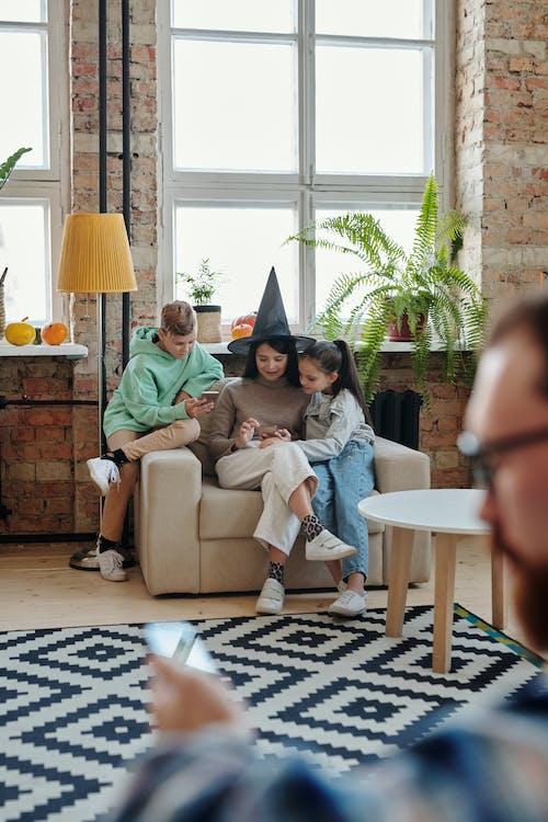 A Family Having Bonding Time