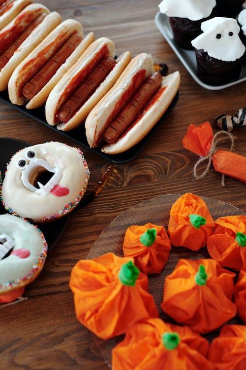 Halloween Foods On Table