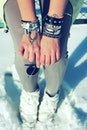hands, hand, silver