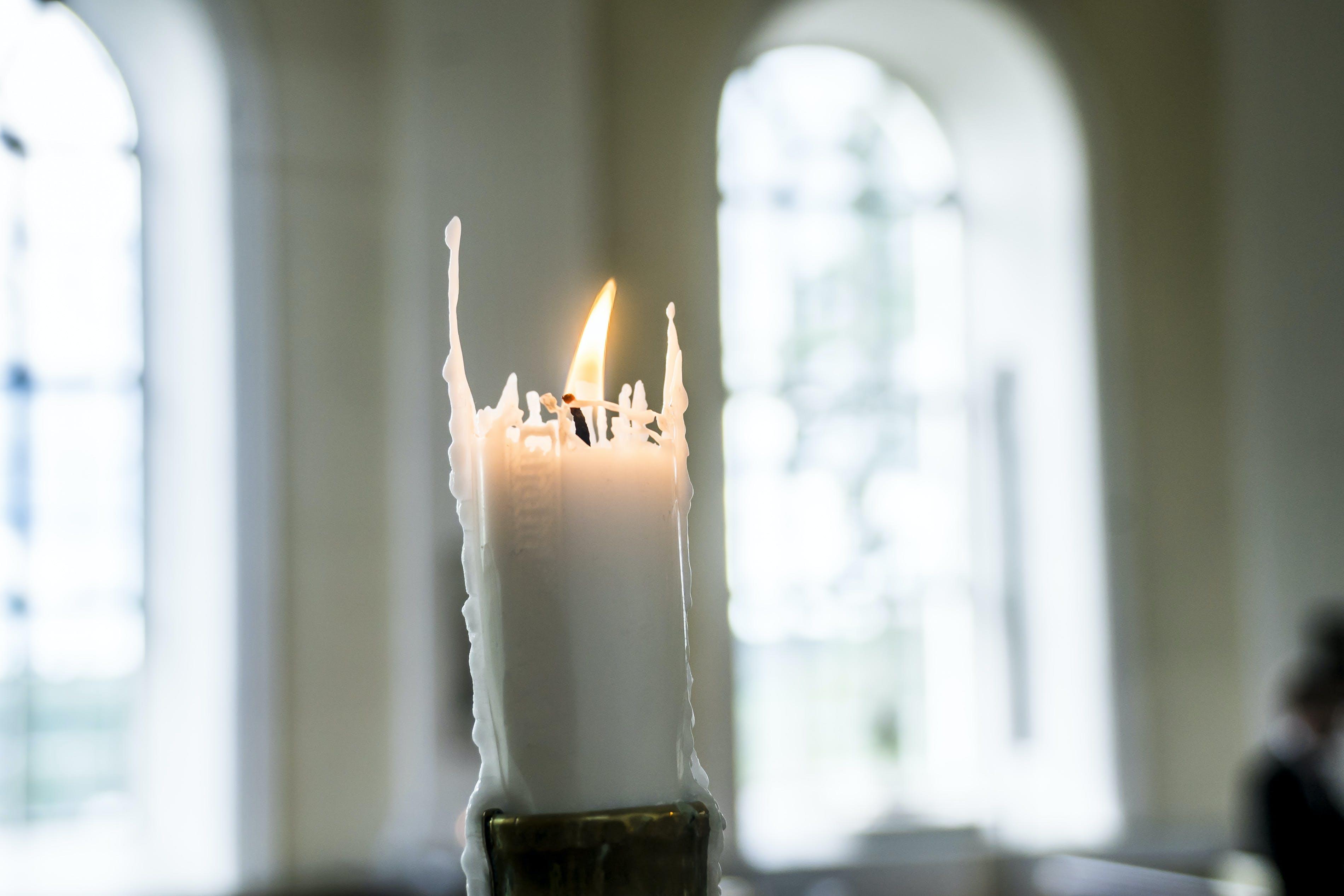 Free stock photo of candle, christianity, church, faith