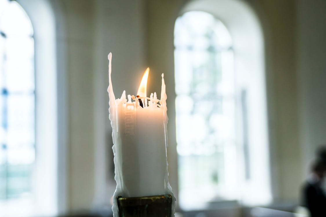 Free stock photo of candle, christianity, church