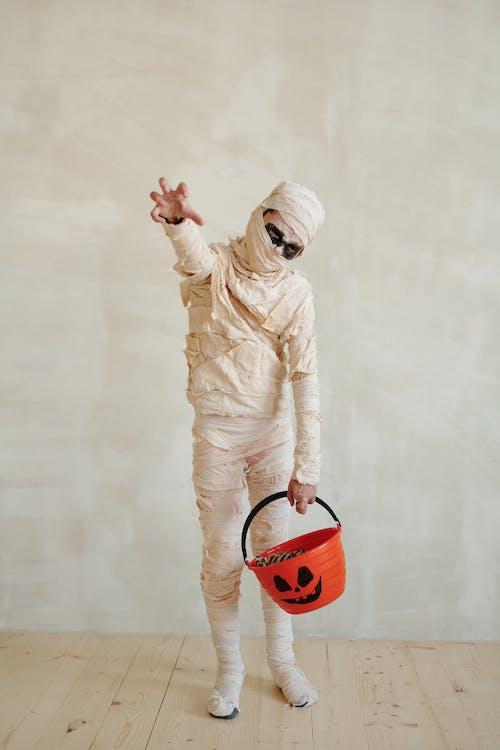 Imagine de stoc gratuită din acasa, bomboană de halloween, bricolaj