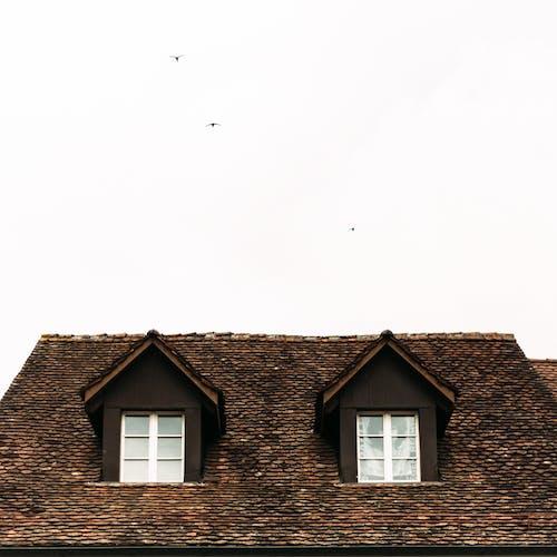 Gratis arkivbilde med arkitektur, bolig, bosted, brun