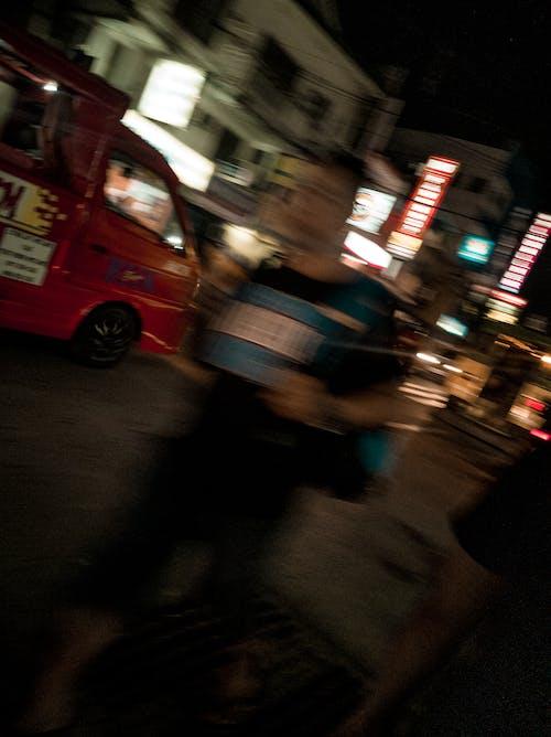 Free stock photo of blur, blurry, blurry background, city