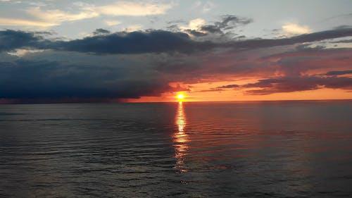 Gratis lagerfoto af aften, hav, havudsigt