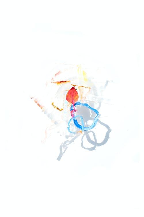 Kostnadsfri bild av abstrakt, akvarellmålning, blad