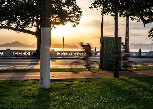 Бесплатное стоковое фото с архитектура, вода, город, закат