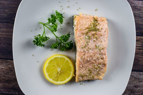 Free stock photo of baked salmon, fish, food