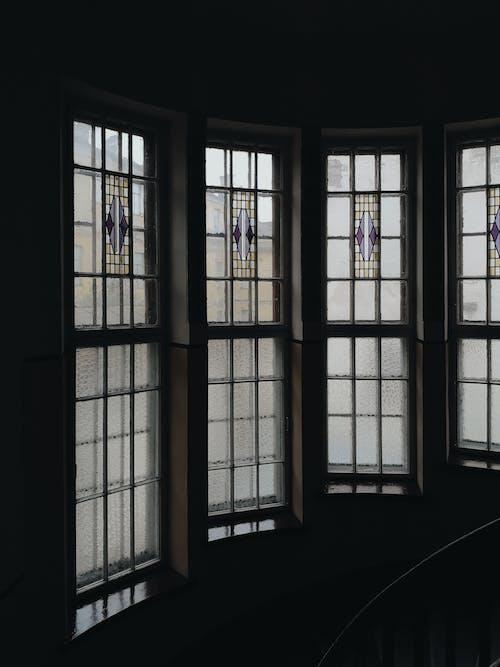 Fotos de stock gratuitas de adentro, arquitectura, artículos de cristal