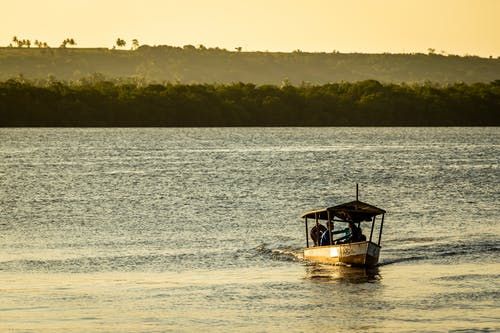 Photos gratuites de aube, bateau, bord de mer, brésil