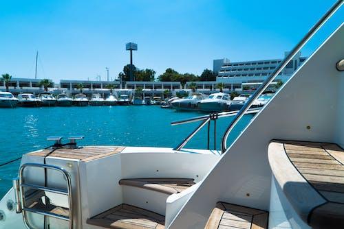 Yachts Docked on Port