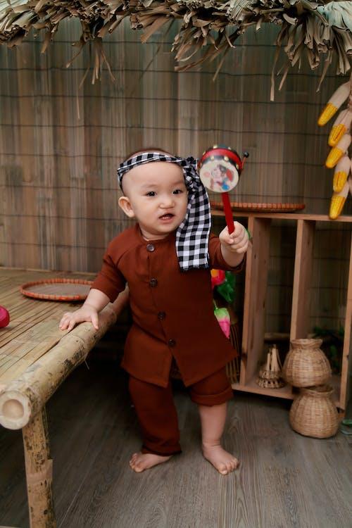 Gratis stockfoto met aanbiddelijk, aziatische baby, baby