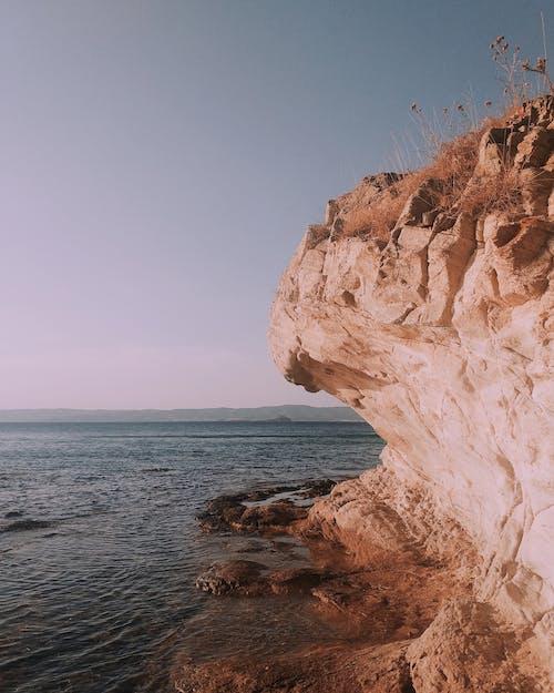 Ingyenes stockfotó kövek, napnyugtakor ég, pulyka témában