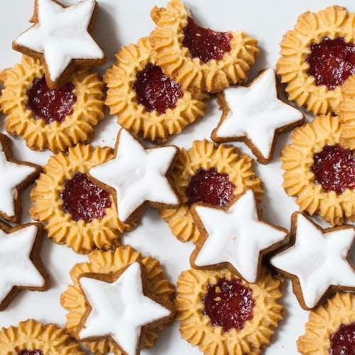 Základová fotografie zdarma na téma chutný, cookies, cukr