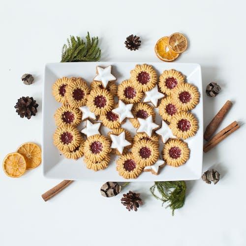 Základová fotografie zdarma na téma chutný, cookies, dekorace