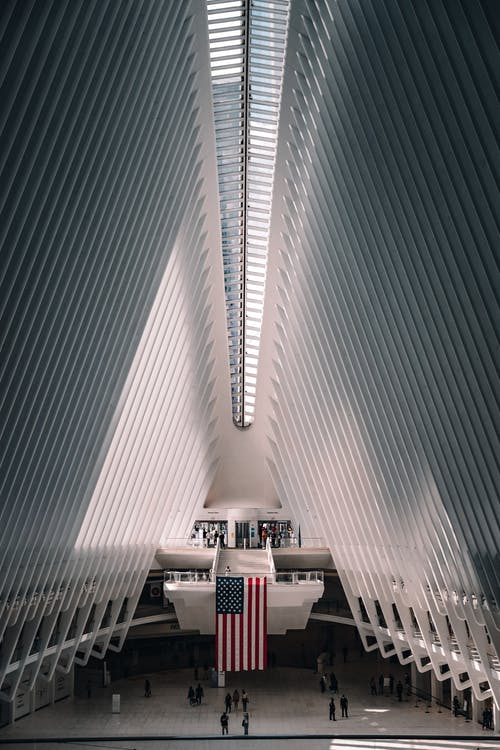 Interior of World Trade Center station