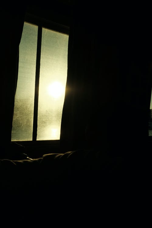 Free stock photo of black frame, glow in the dark, window light