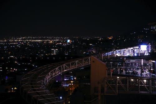คลังภาพถ่ายฟรี ของ ตอนกลางคืน, เมืองยามค่ำคืน