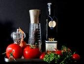 food, healthy, tomatoes