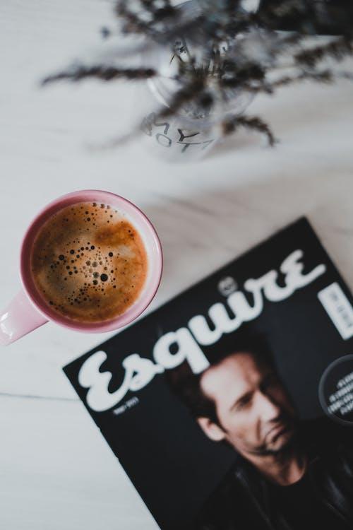 Gratis stockfoto met bloemachtig, indeling, koffie, lay-out