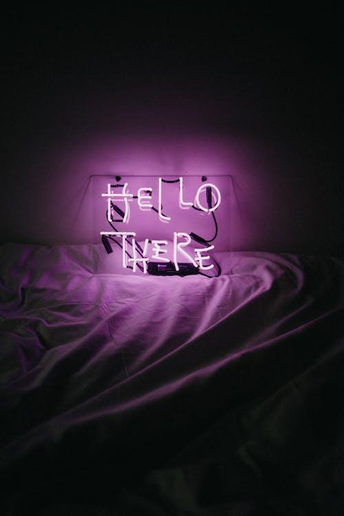 Purple Love Me Love Me Neon Light Signage