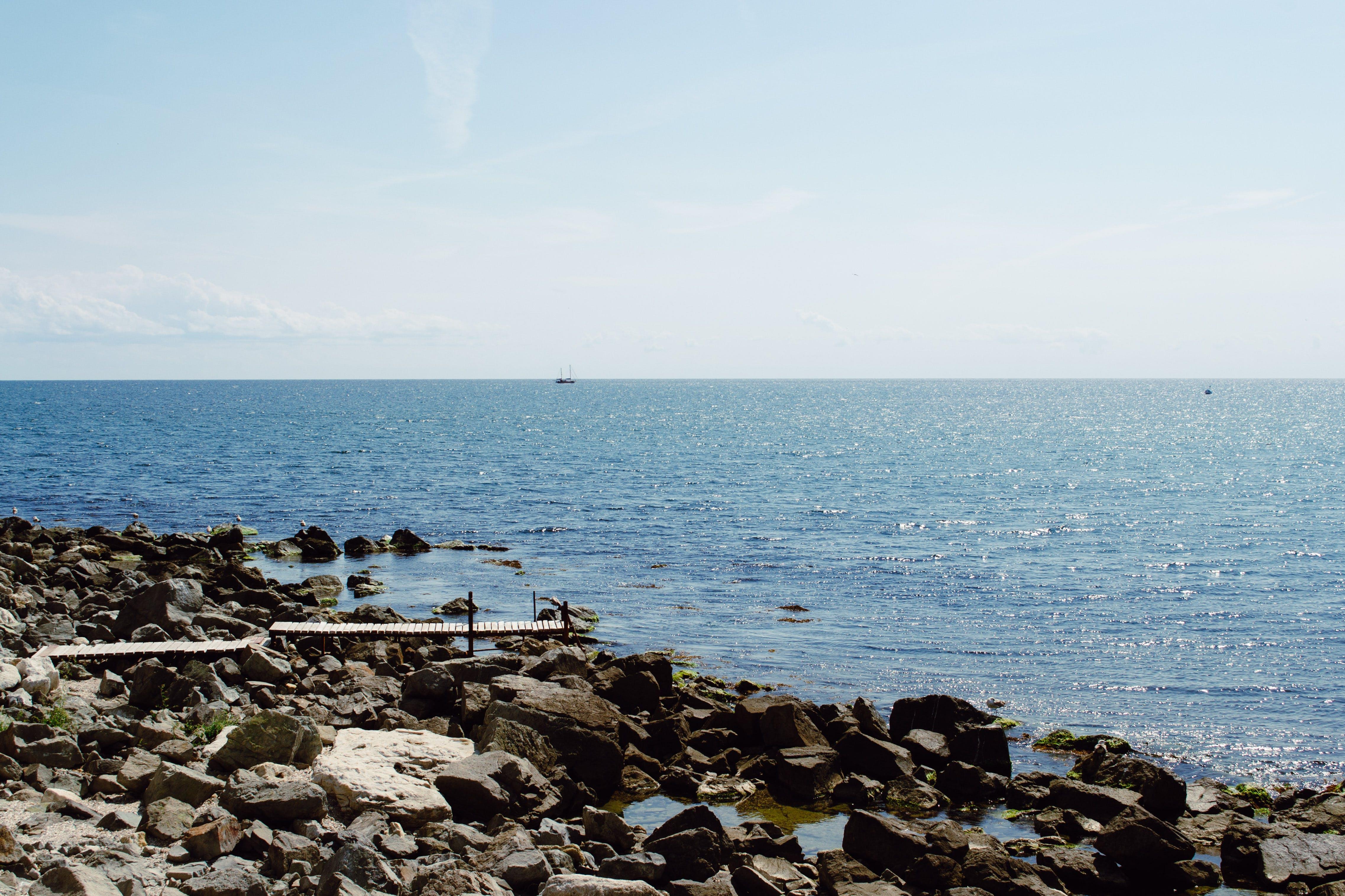 Gratis arkivbilde med hav, himmel, idyllisk, landskap