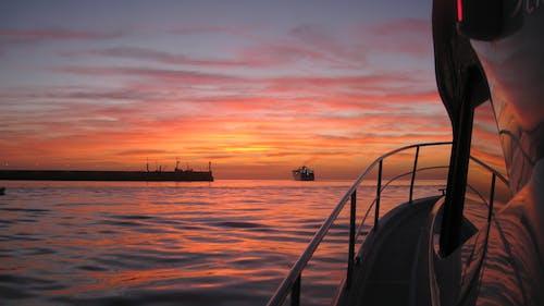 Бесплатное стоковое фото с восход, на берегу моря, ранее утро