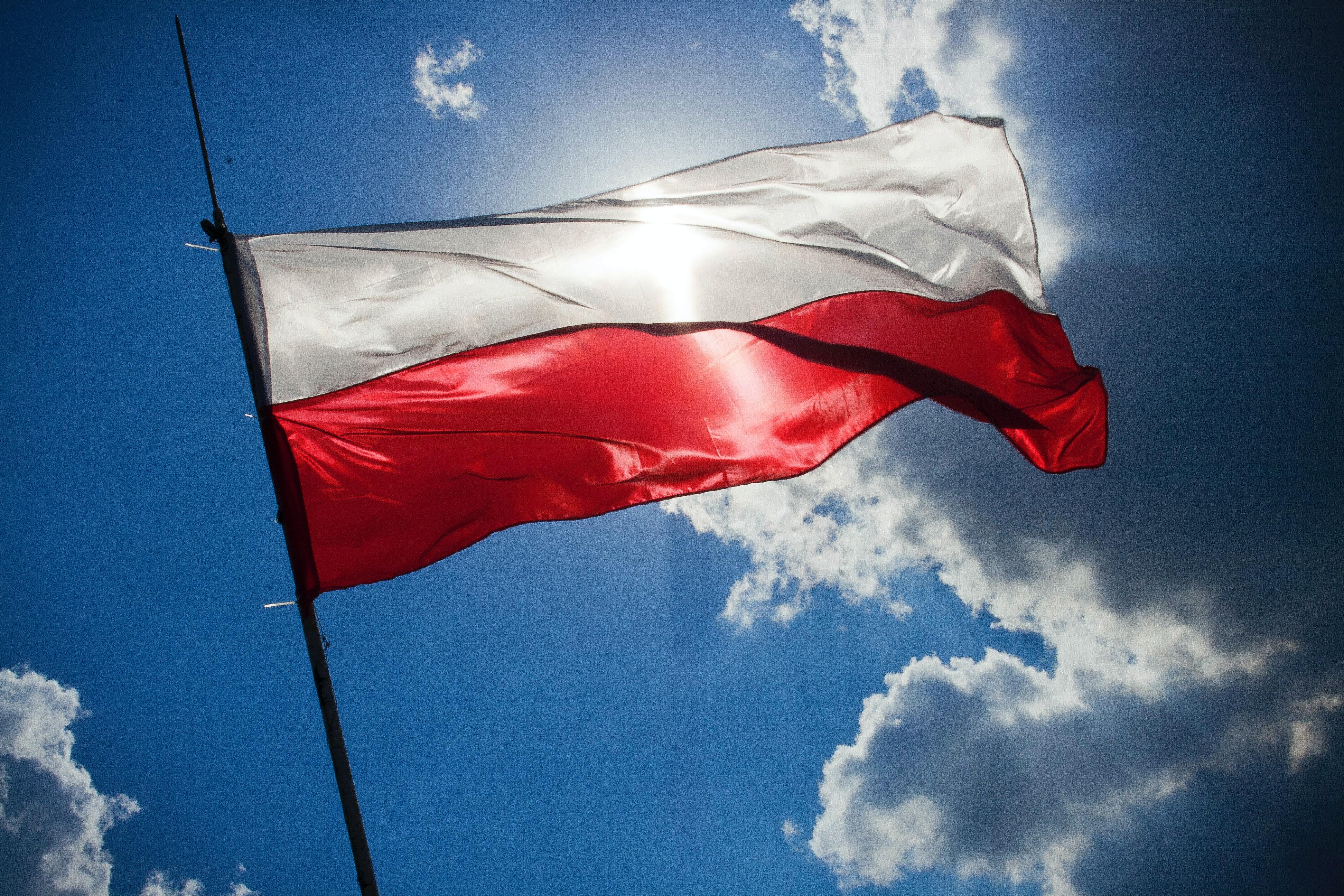 Flag Of Poland 183 Free Stock Photo