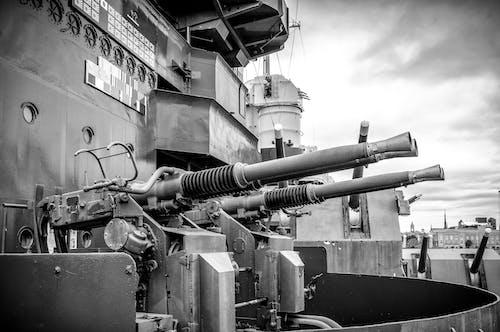Free stock photo of uss battleship, uss north carolina bb 55