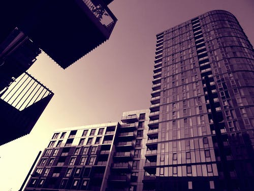低角度拍攝, 塔, 天空, 建築 的 免費圖庫相片