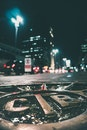 vehicles, sky, night