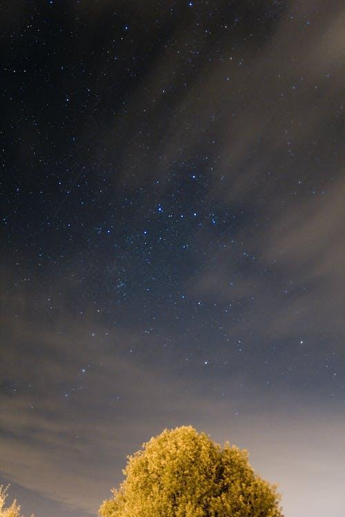 Бесплатное стоковое фото с астрофотографии, Астрофотография, звезды, ночное небо