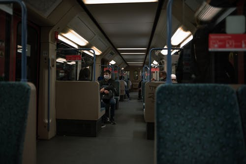 People Sitting Inside Train