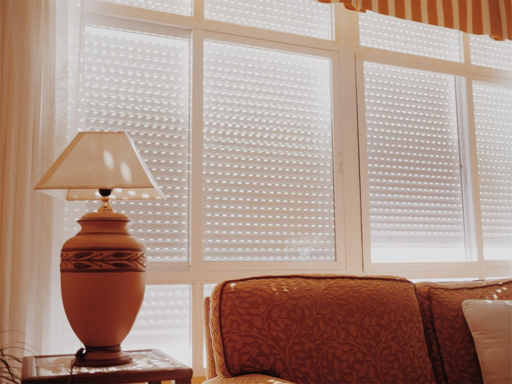 Free stock photo of couch, days, lamp