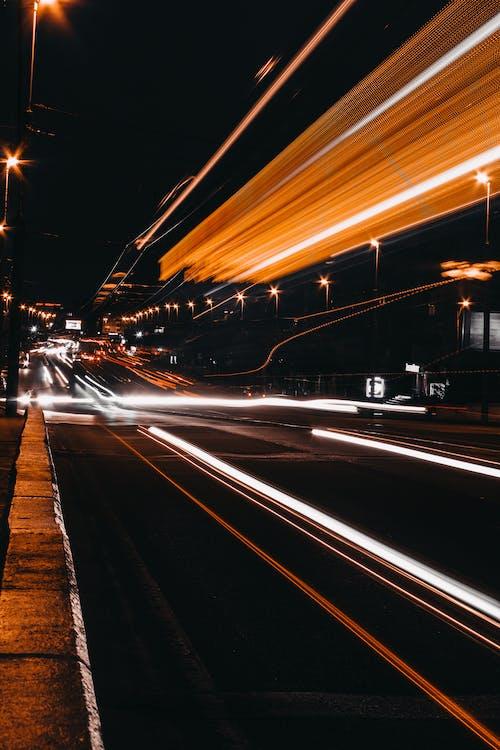 asfalt, autopista, carrer