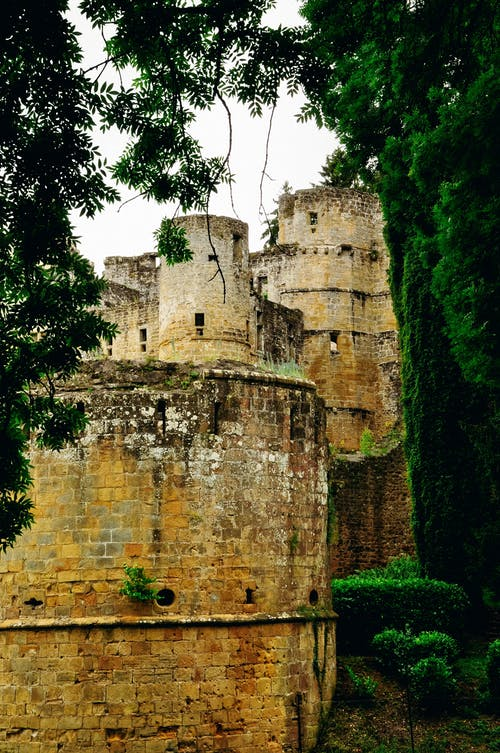Free stock photo of architecture, castle, green, nature