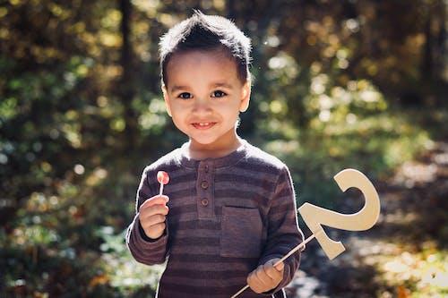 Gratis arkivbilde med 2 år gammel gutt, guttebarn