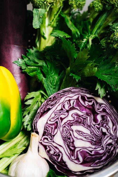 Different Vegetables on a Closeup Shot