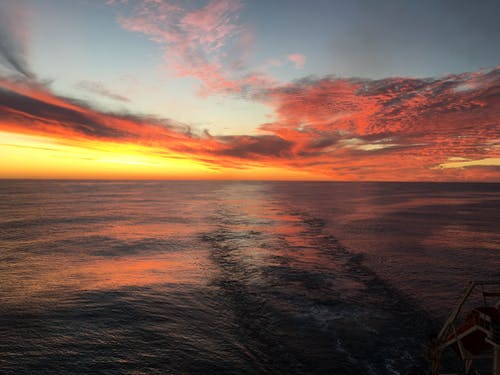 Kostnadsfri bild av atlanten, cirrusmoln, fint väder, flotta