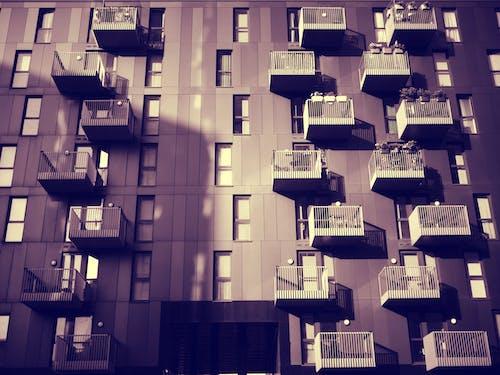 Darmowe zdjęcie z galerii z architektura, budynek, futurystyczny, kwadrat