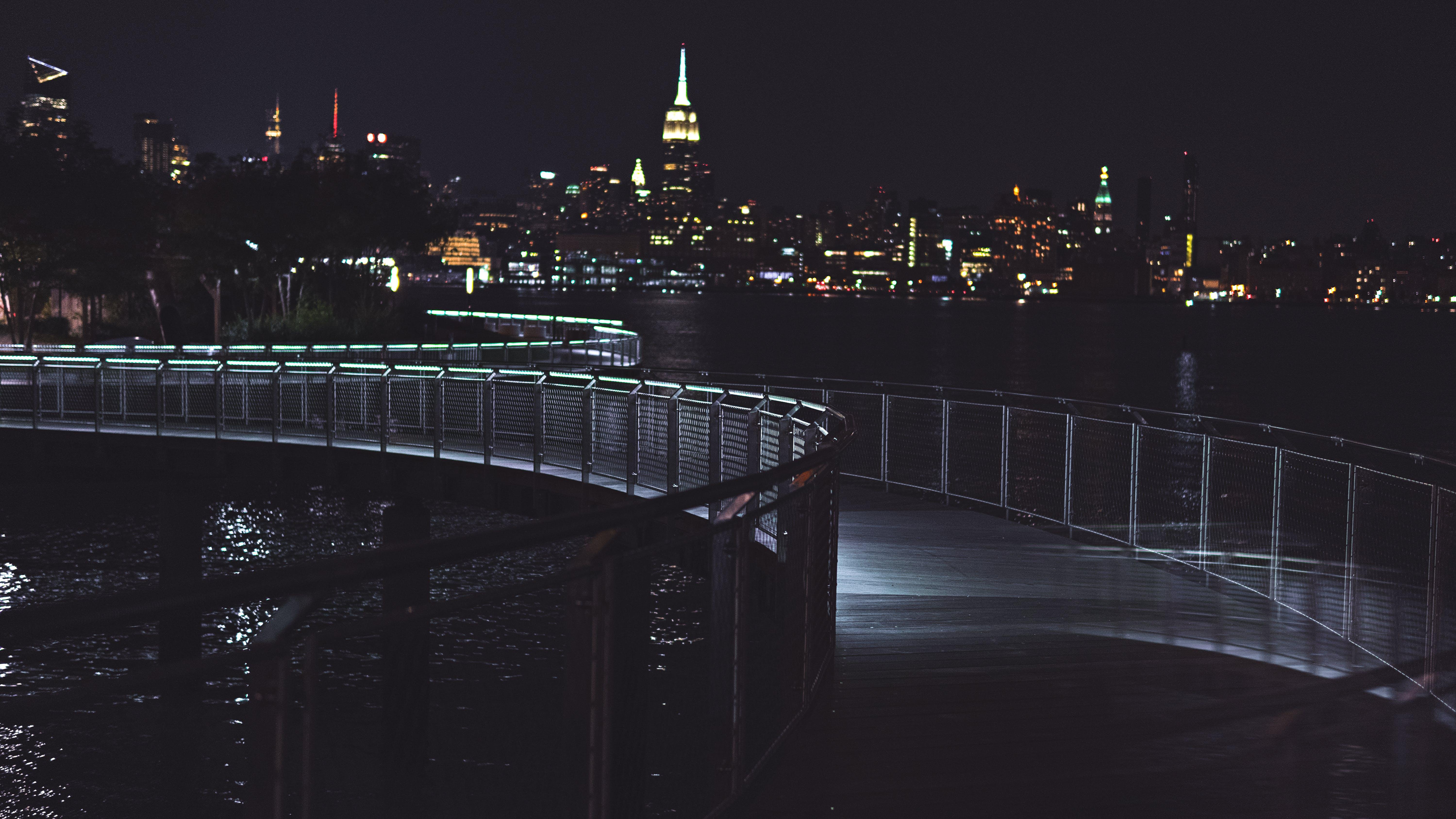 Free stock photo of city, lights, new york, bridges