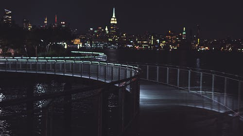 Free stock photo of city, lights, new york