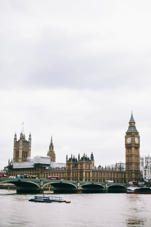 Photo of Parliament Building Beside River Bank
