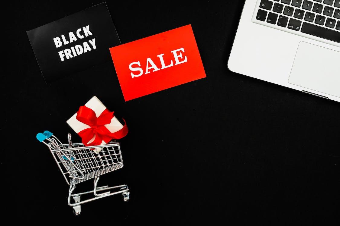 คลังภาพถ่ายฟรี ของ black friday, กราฟิกดีไซน์, กล่องของขวัญ
