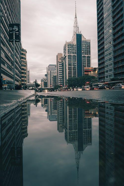 Fotos de stock gratuitas de agua, alto, arquitectura, céntrico