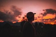 light, dawn, sunset