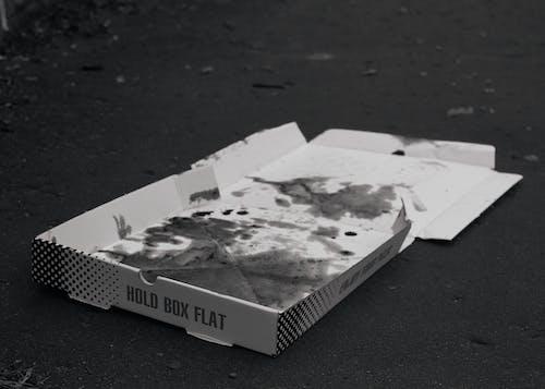Foto d'estoc gratuïta de misteriós, paviment, pizza
