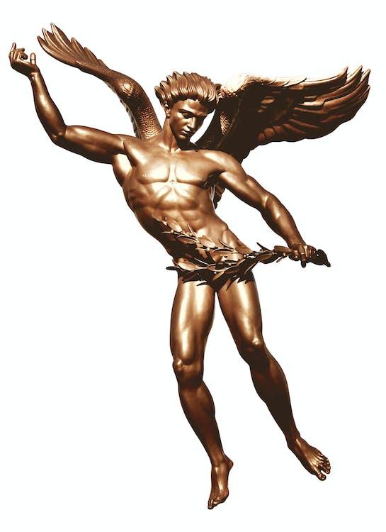 Free stock photo of angel, angel wings, boy
