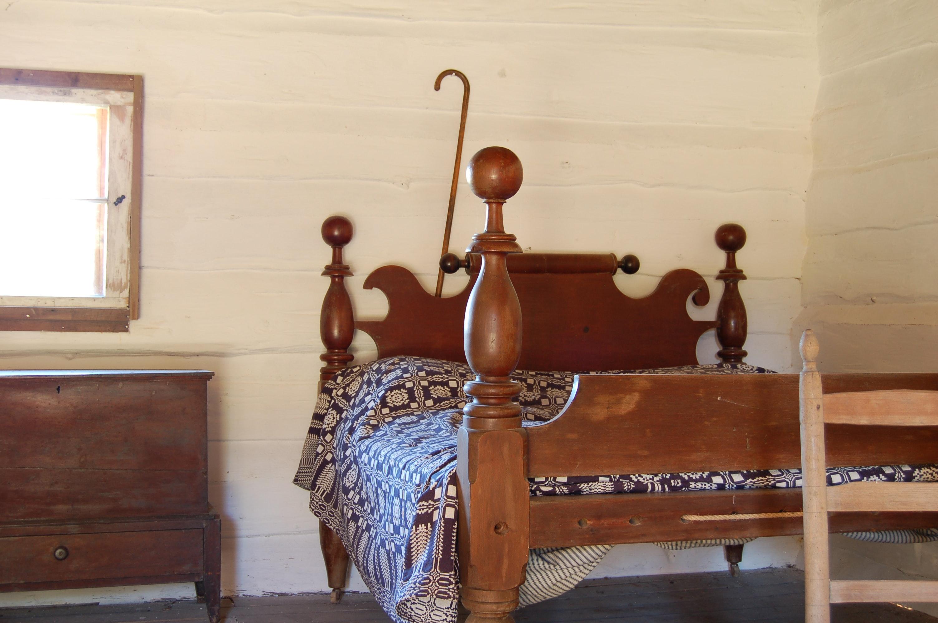 Kostenloses Foto zum Thema: antik, antikes schlafzimmer, antiquität